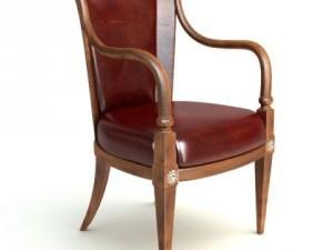 Photorealistic Antique Armchair 2