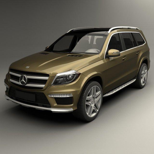 Mercedes Benz GL 63 3D Model