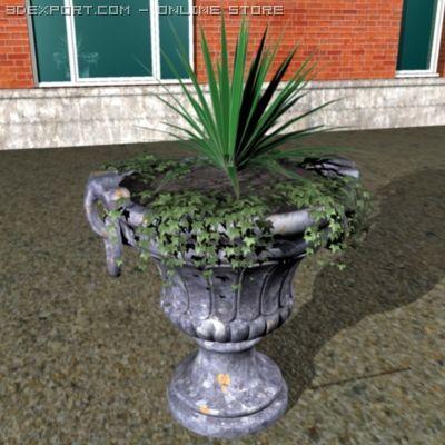 Garden urn 3D Model