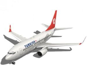 Turkish Airlines Boeing 737700w