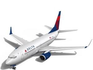 Delta Airlines Boeing 737700w