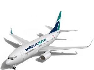 WestJet Boeing 737700w