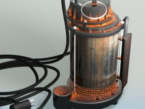 Sump Pump  Submersible Stainless Steel with Solid