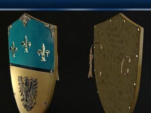 Charlemagne Medieval Shield