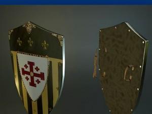 Jerusalem Medieval Shield