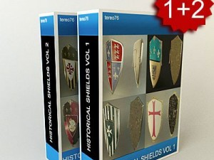 Super pack Historical Shields