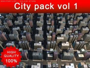Cityscape pack vol 1