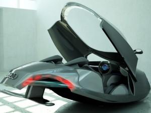 Audi shark car model