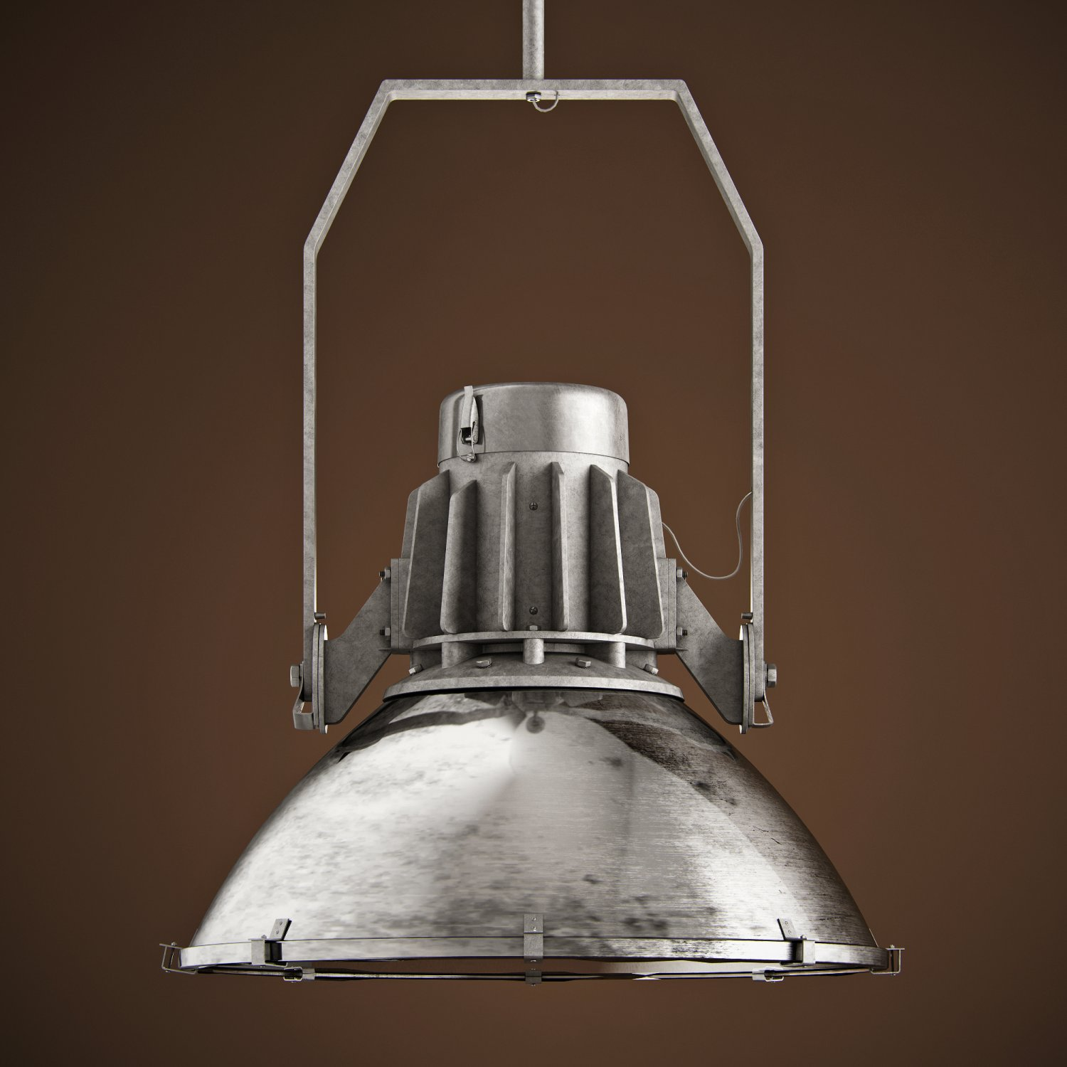 Restoration Hardware Dry Dock Pendant Small 3d Model In Ceiling Lights 3dexport