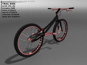 Trial bicycle