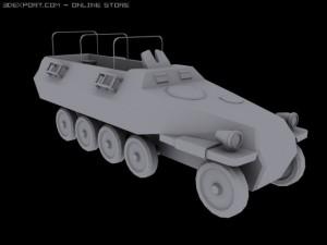 Crosscountry vehicle