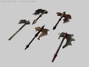 Fantasy axe packs