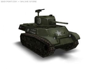 WW2 M3a3 tank
