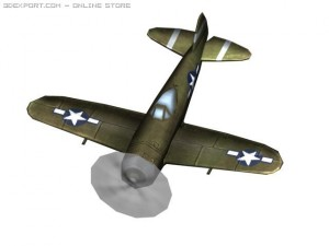 WW2 P47n Plane