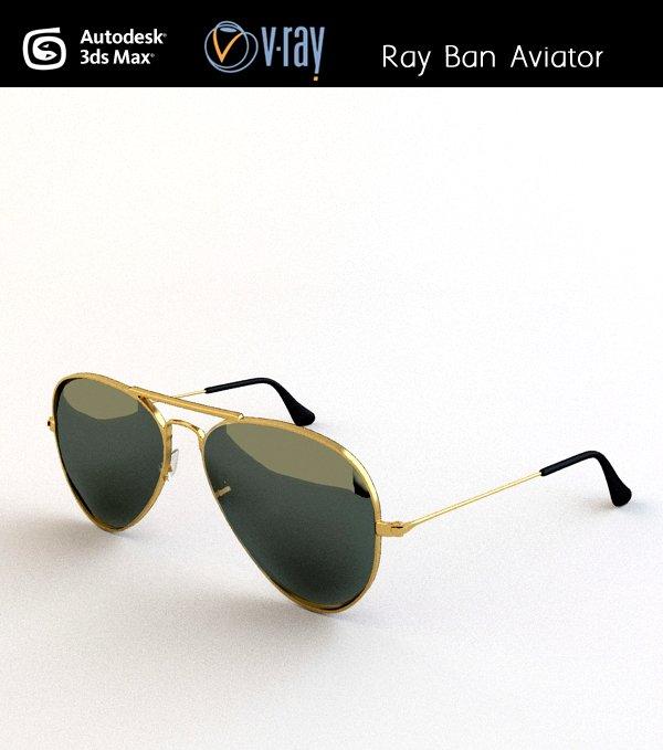 ray ban aviator model
