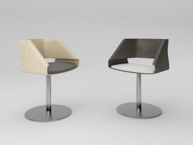 Emmemobili Nastro chair 3D Model