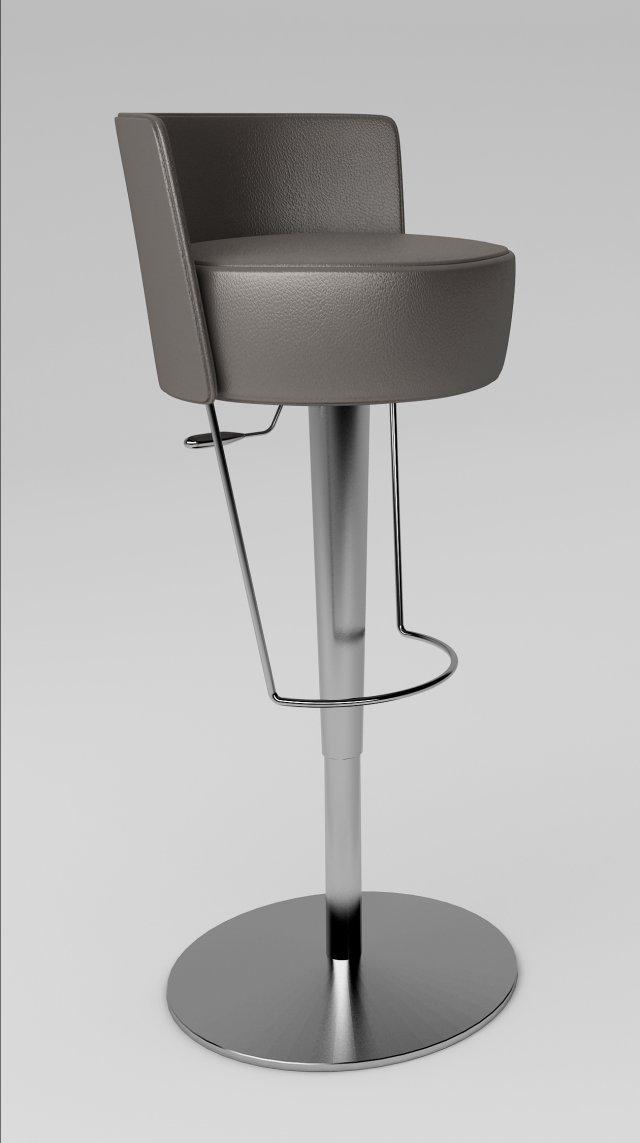 Midj Bongo LG Stool 3D Model