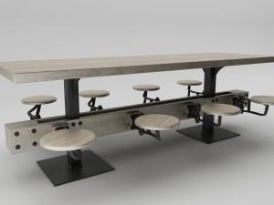 Steampunk big table