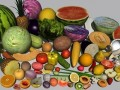 Fruit and vegetables collection