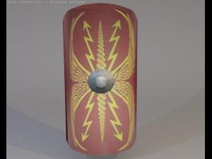 3D Model Roman Legionnaire Shield
