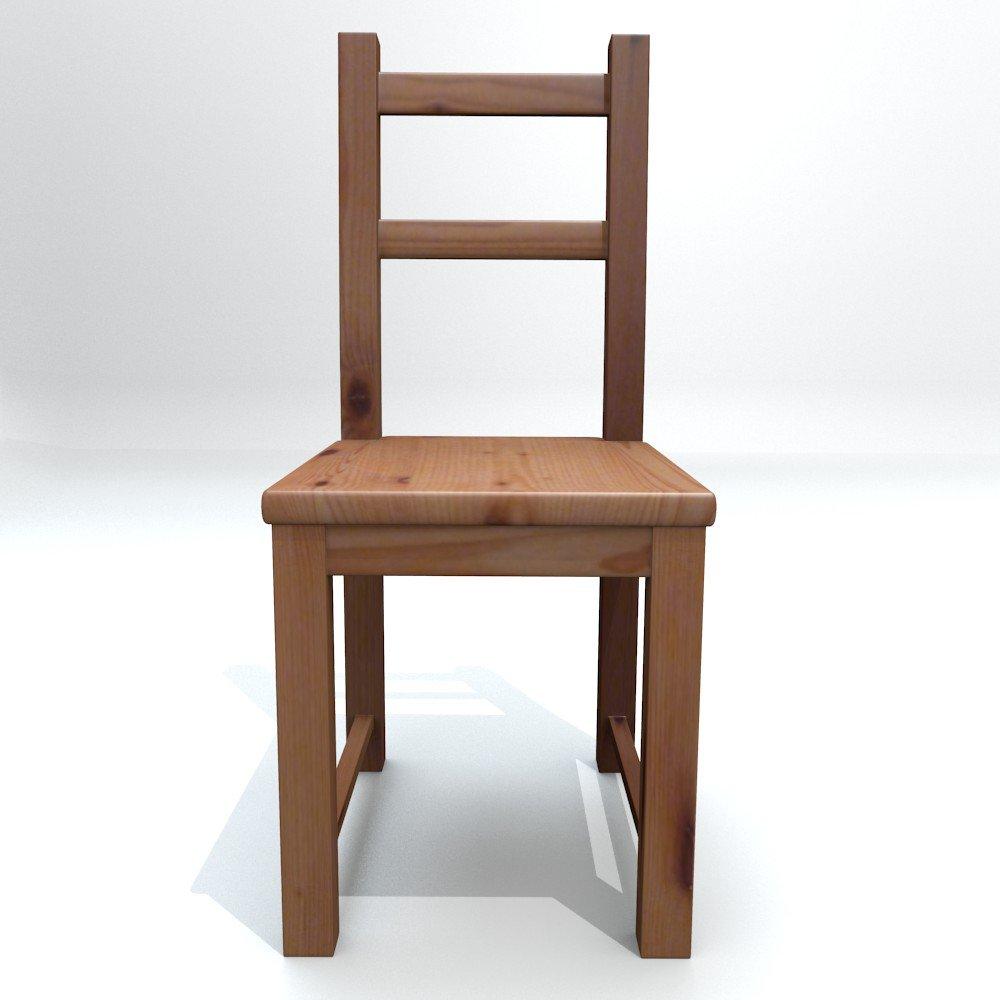 Ikea Scaffali Legno Ivar ikea chair ivar gratis modello 3d in sedia 3dexport