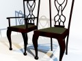 3D Model Dining chair set