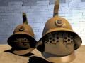 3D model ancient Gladiator Helmet