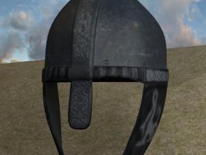 3D Ancient Medieval Helmet