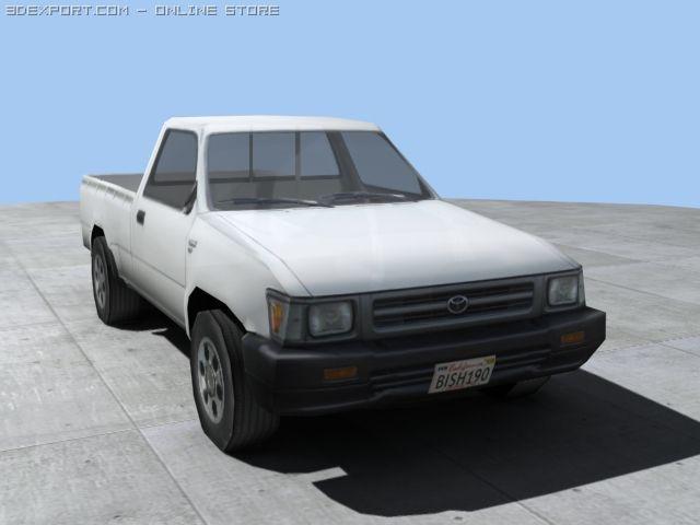 Toyota Hi Lux N80 3D Model