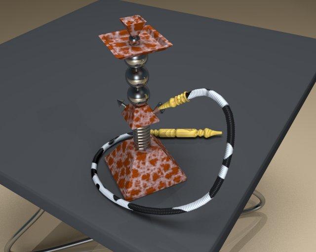 Pyramid Hookah 3D Model