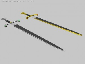 Twin Hand and A Half Swords