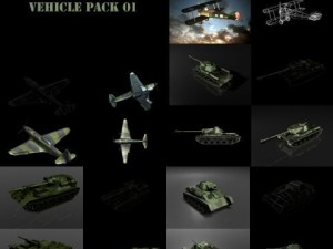 World Wars Vehicle Pack 01