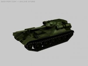 SU101 experimental Soviet artillery