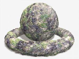 Seaweed and Barnacles Tile
