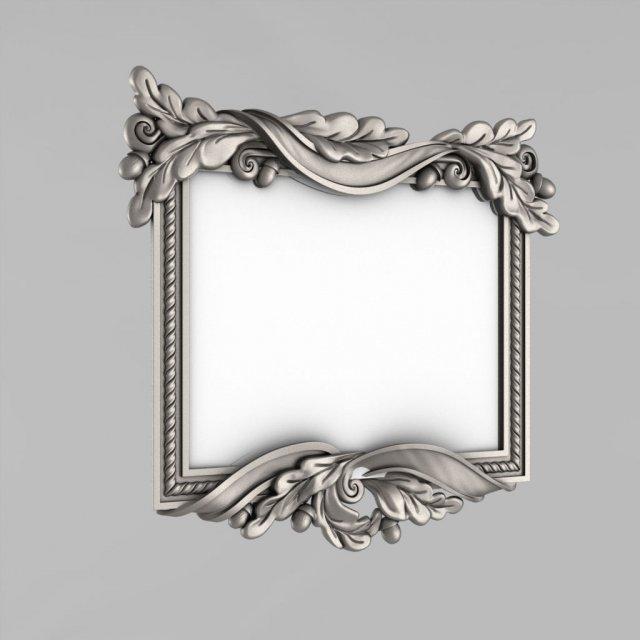 3d model carved mirror 3d models download available formats