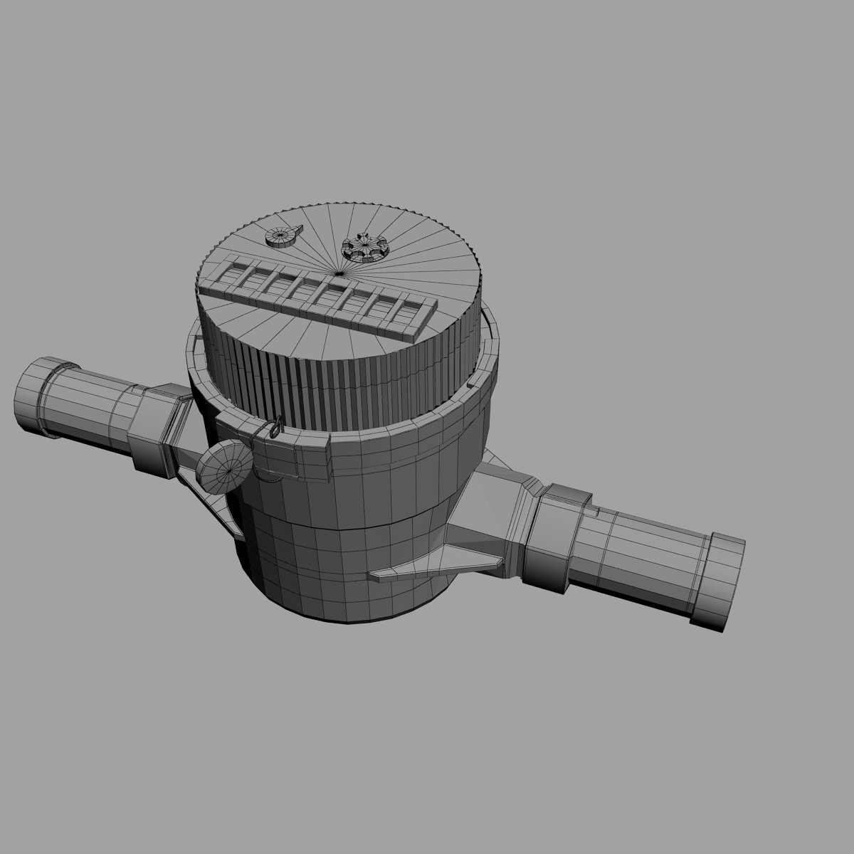3d cad residential water meter model - Water Counter Meter Remove Bookmark Bookmark This Item