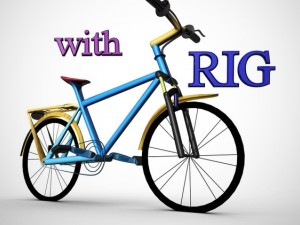 Rigged bicycle