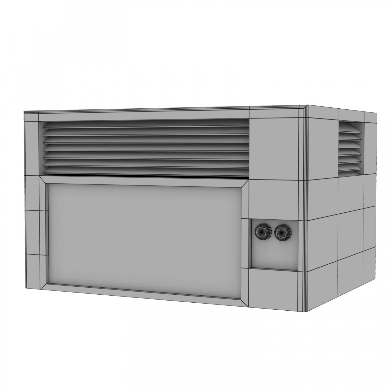 AC-Unit Object 3D Model in Bommenwerper 3DExport