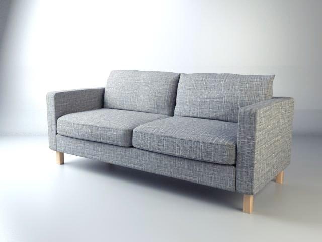 IKEA Karlstad Sofa 3D Model in Sofa 3DExport
