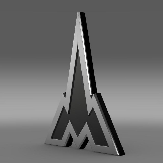 Deutz Logo 3D Model