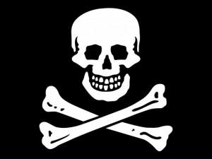 Texture Jolly Roger texture Flag