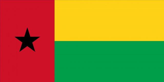 GuineaBissau flag 3D Model