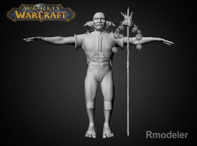 Goblin Zig 3D Model