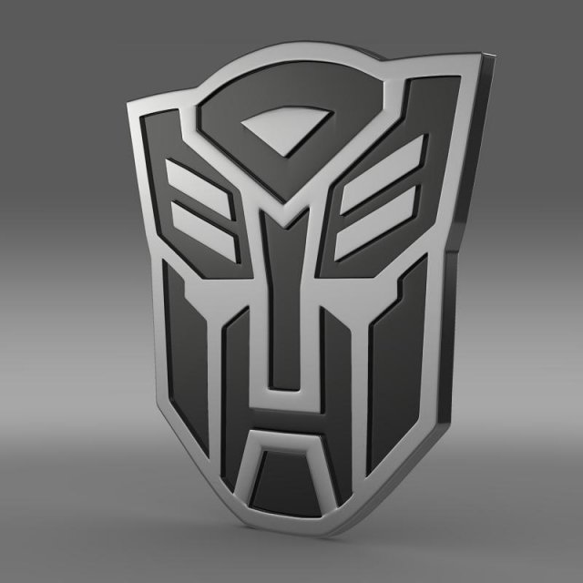 Transformer Logo 3D Model
