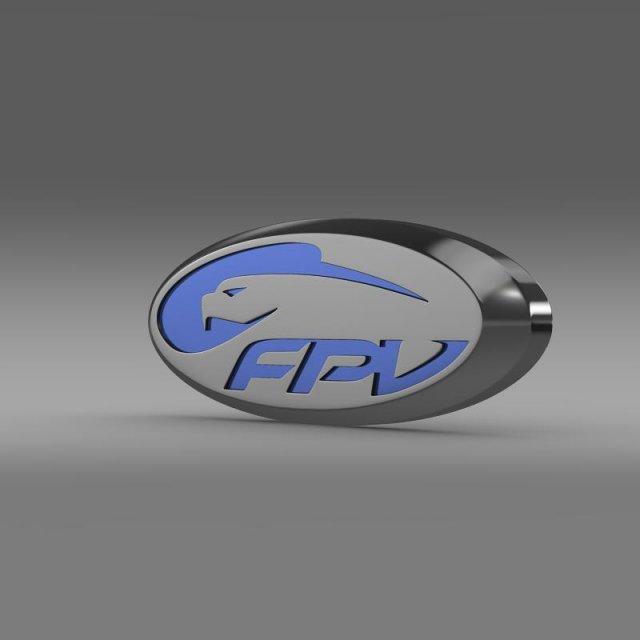 Fpv logo 3D Model