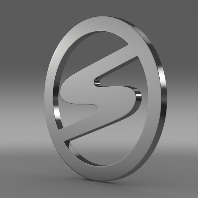 Trabant Logo 3D Model