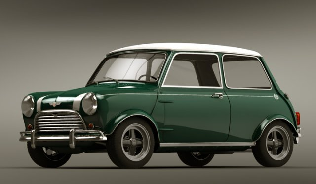 Mini Cooper Clic Model
