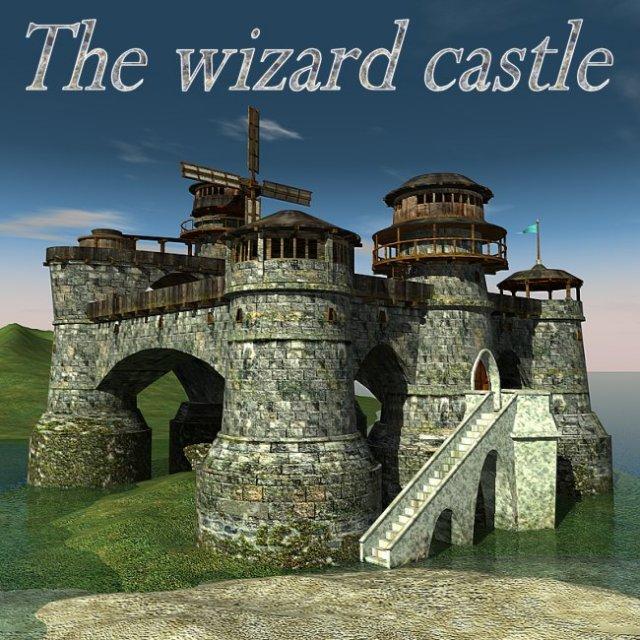 Wizard castle 3D Model