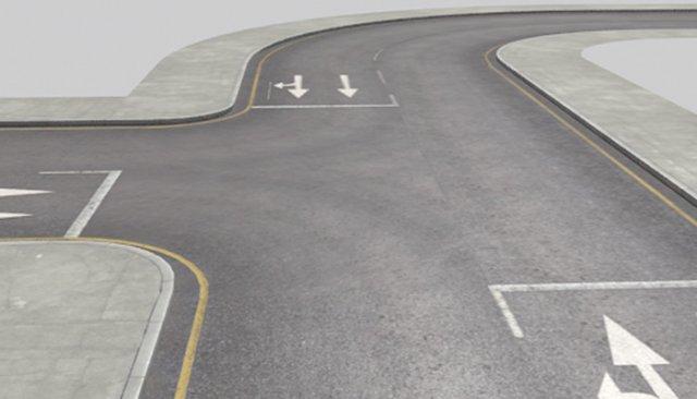 Roads Construction Kit 3D Model
