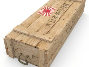 Imperial Japanese army crate